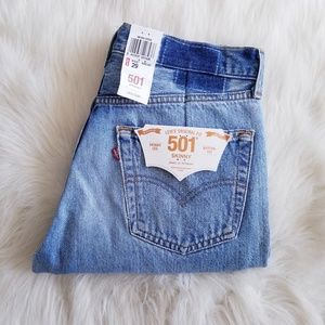 Levi's 501 Skinny Limited Edition Vintage Jeans